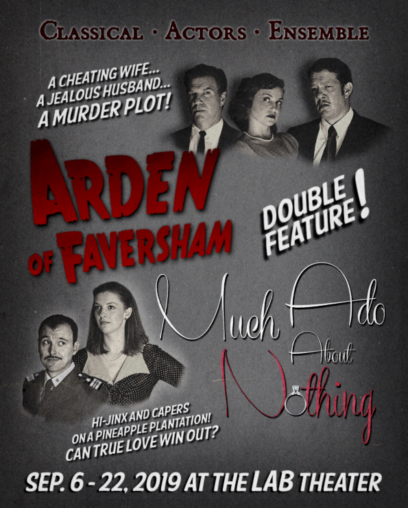 Arden of Faversham / Much About Nothing poster